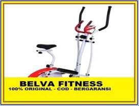 Alat gym fitness elliptical bike TMID 838 fitness dan terapi