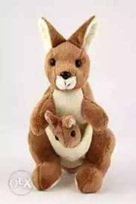 Kangaroo soft TOY for kids entertainment