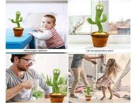 Cactus Toys Smart Mainan Boneka Pintar Pohon Kaktus Goyang Bisa Bicara