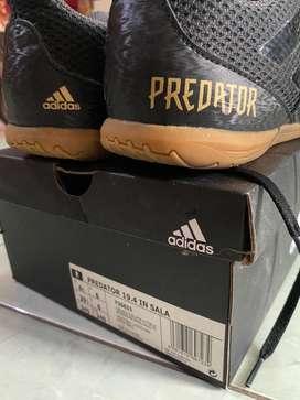 Sepatu Futsal Adidas Predator 19.4 IN Sala Core Black D97975 Original