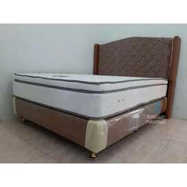 Fulset matras / springbed Gold Elora plushtop rebonded