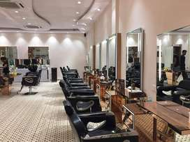 Unisex Salon for sale in newly condition