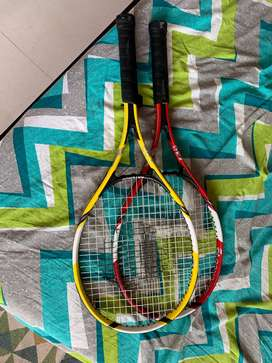 Lawn Tennis Rackets for sale (set of two)