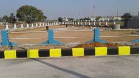 Fully developed DTCP layout open plot for sale in srisaialm highway