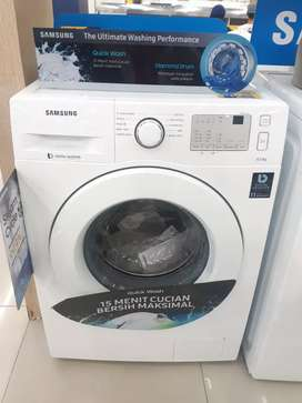 Kredit mesin cuci Samsung Front loading 6,5Kg proses 3menit
