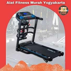 treadmill elektrik murah 3 fungsi tl-619 / treadmil murah yogyakarta