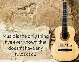 Learn music: be it  singing, ghazal, bhajan, bollywood, folk or karoke