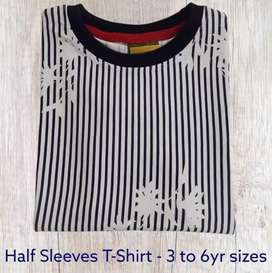 Export Quality  KIDS Half Sleeves T.Shirt