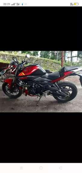 Yamaha mt 250cc kengkap surat pajak jalan