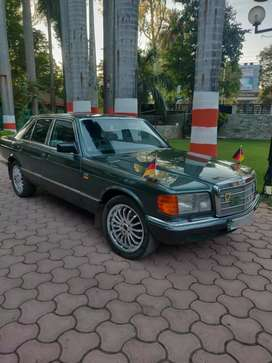 W126 MERCEDES BENZ 300 S TURBO DIESEL