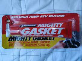 Pioneer Mighty Gasket Red High-Temp Silicone Lem Sealant Tahan Panas
