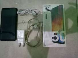 Jual Cepet Samsung A50 4/64 white / Tukar Vivo S1
