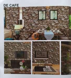 Wallpaper Dinding PREMIUM Motif Batu Alam 2 De Cafe 23