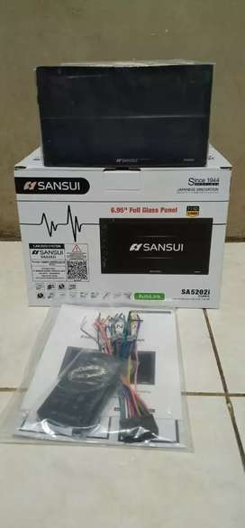 Sansui sa5202i osaka, layar fullglass 7 inch, kamera, pasang