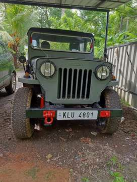Willys jeep newly tested military disk high speed engine