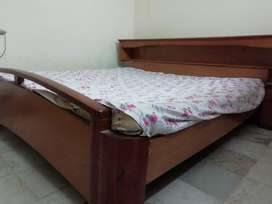 Double bed with side tables and dressing table for sale