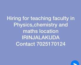 Faculty for Physics,Chemistry and Maths