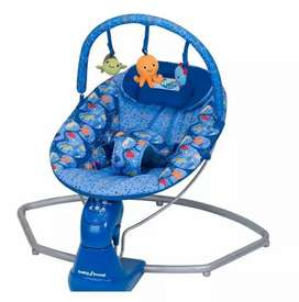 Baby swing bouncer automatic