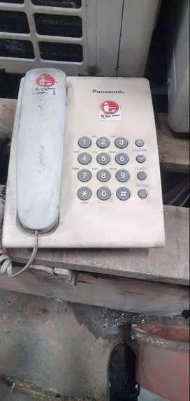 Telephone Rumah Type KX-TS505MXW (Panasonic) Kondisi 90%
