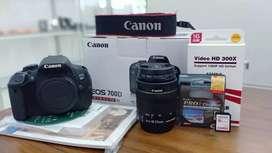 Siapa lagi cari kamera Canon 700d second ?