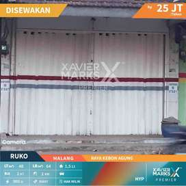 Disewakan Ruko 1,5 Lantai Lokasi Strategis di Pinggir Jalan dan Ramai