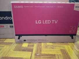 """New HDTv Led 32"""" LG Digital DVB-T2 usb movie baru dus segel garansi"""