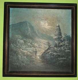 Lukisan Rembulan Malam