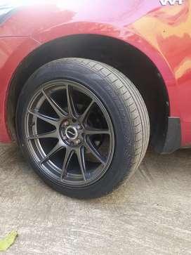 Tyres size 215 50 17  Price 26000