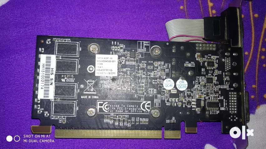 Graphics card 1GB 0