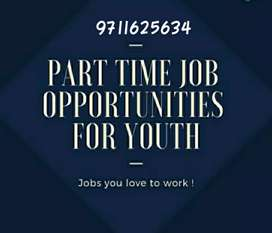This opportunity for everyone part time job & home based
