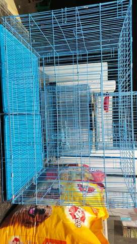 Big Size 4 feet New Dog cage for sale