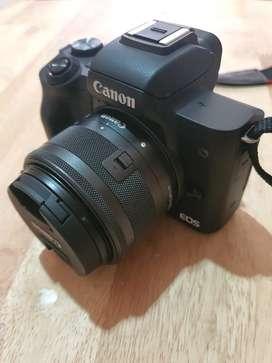 Canon M50 second rasa baru