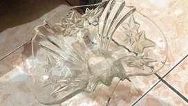 Vas bunga cristal