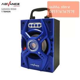 Speaker advan s40 bluetoth suara josshh