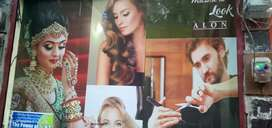 A unisex saloon new constructed for sale in Kanpur Nawabganj