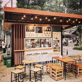 CONTAINER KEBAB/CONTAINER DIMSUM/BOOTH MAKANAN/BOOTH BOBA PROMO MURAH
