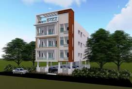 2 Bhk flat for sale 28lakh at Suncity near Glendale school.