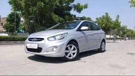 Hyundai Verna Fluidic 1.4 CRDi EX, 2014, Diesel