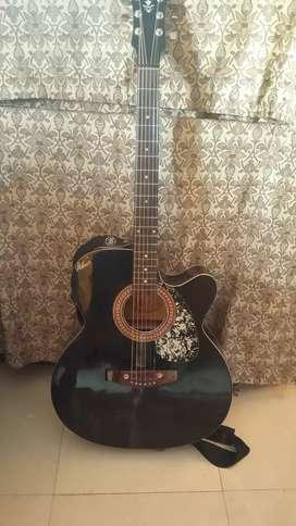 Acoustic guitar (black)