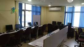 well furnished floor on rent with all facilities available.