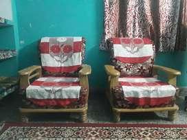 Two single sitter sofa having good condition.