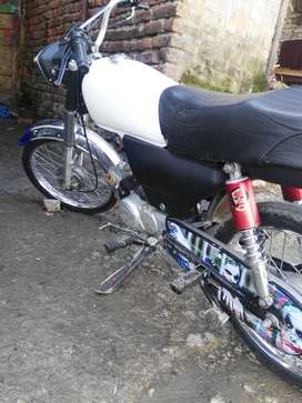 Zxmco cd 70 bike in very well condition without number.