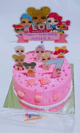 Kue ulang tahun Brownies