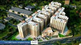 At Miyapur Gated Apart 1,2 Bhk Flats in Nebula Aavaas Miyapur