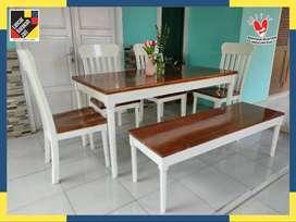 meja makan minimalis 4 kursi B27070