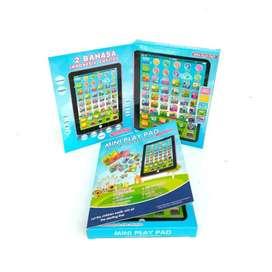 Mini Playpad edukasi 2 Bahasa - Mini Play ipad education kids 2 Bahasa