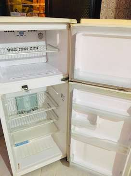 Hitachi double door fridge