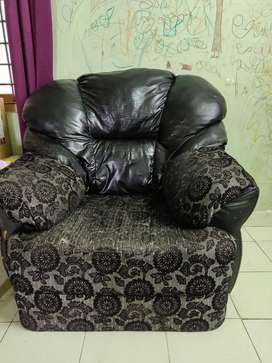 Sofa Set one single seater and one 3 seater