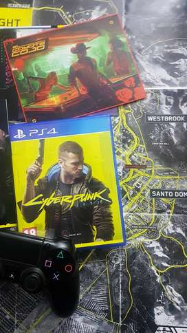Cyber punk 2077 ps4