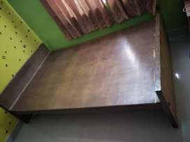 Teak Wood and plywood maked Cot good condition